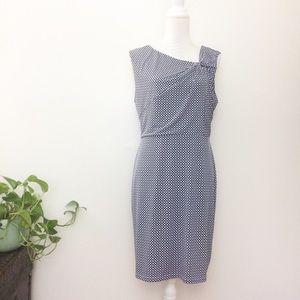 41 Hawthorn STITCH FIX Bella Knot Knit Blue Dress